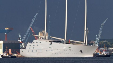 Sailing Yacht A >> Sea Trials For Sailing Yacht A Magma Structures