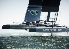 Land Rover BAR Americas Cup yacht
