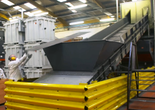ELG carbon fibre recycling plant